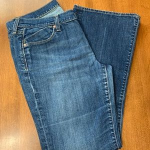 OLD NAVY THE FLIRT BOOT CUT JEANS -Sz. 12 petite